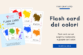 Flash Card dei colori